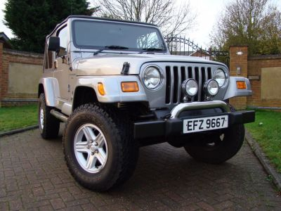 Jeep Wrangler 4.0 60th Anniversary 2dr Soft Top Estate Petrol SilverJeep Wrangler 4.0 60th Anniversary 2dr Soft Top Estate Petrol Silver at Jeep Wranglers Leighton Buzzard
