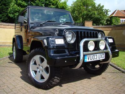 Jeep Wrangler 4.0 Sport 2dr Estate Petrol BlackJeep Wrangler 4.0 Sport 2dr Estate Petrol Black at Jeep Wranglers Leighton Buzzard