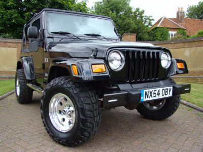 Jeep Wrangler 4.0L Automatic LHD 2005 Convertible Petrol BlackJeep Wrangler 4.0L Automatic LHD 2005 Convertible Petrol Black at Jeep Wranglers Leighton Buzzard