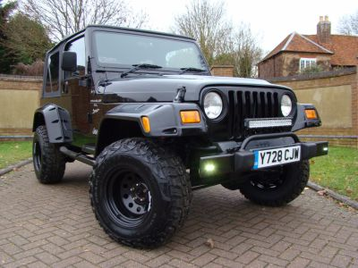Jeep Wrangler 4.0 Sport 2dr Four Wheel Drive Petrol BlackJeep Wrangler 4.0 Sport 2dr Four Wheel Drive Petrol Black at Jeep Wranglers Leighton Buzzard