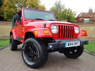 Jeep Wrangler 4.0 Sport 2dr Estate Petrol Red/blackJeep Wrangler 4.0 Sport 2dr Estate Petrol Red/black at Jeep Wranglers Leighton Buzzard
