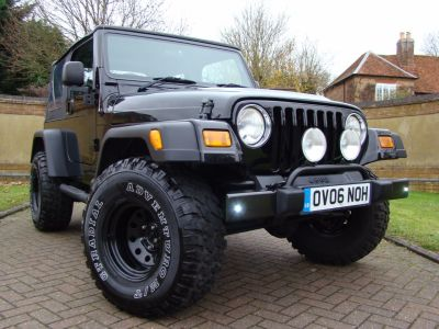 Jeep Wrangler 4.0 Jamboree 2dr Convertible Petrol BlackJeep Wrangler 4.0 Jamboree 2dr Convertible Petrol Black at Jeep Wranglers Leighton Buzzard