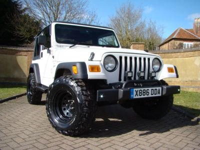 Jeep Wrangler 4.0L Sport Soft Top Automatic Four Wheel Drive Petrol WhiteJeep Wrangler 4.0L Sport Soft Top Automatic Four Wheel Drive Petrol White at Jeep Wranglers Leighton Buzzard