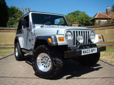Jeep Wrangler 4.0 Grizzly 2dr Soft Top Convertible Petrol SilverJeep Wrangler 4.0 Grizzly 2dr Soft Top Convertible Petrol Silver at Jeep Wranglers Leighton Buzzard