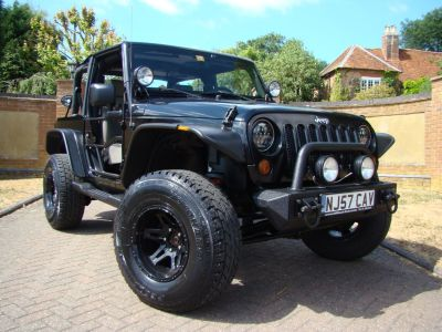 Jeep Wrangler WRANGLER 3.8 V6 Four Wheel Drive Petrol BlackJeep Wrangler WRANGLER 3.8 V6 Four Wheel Drive Petrol Black at Jeep Wranglers Leighton Buzzard