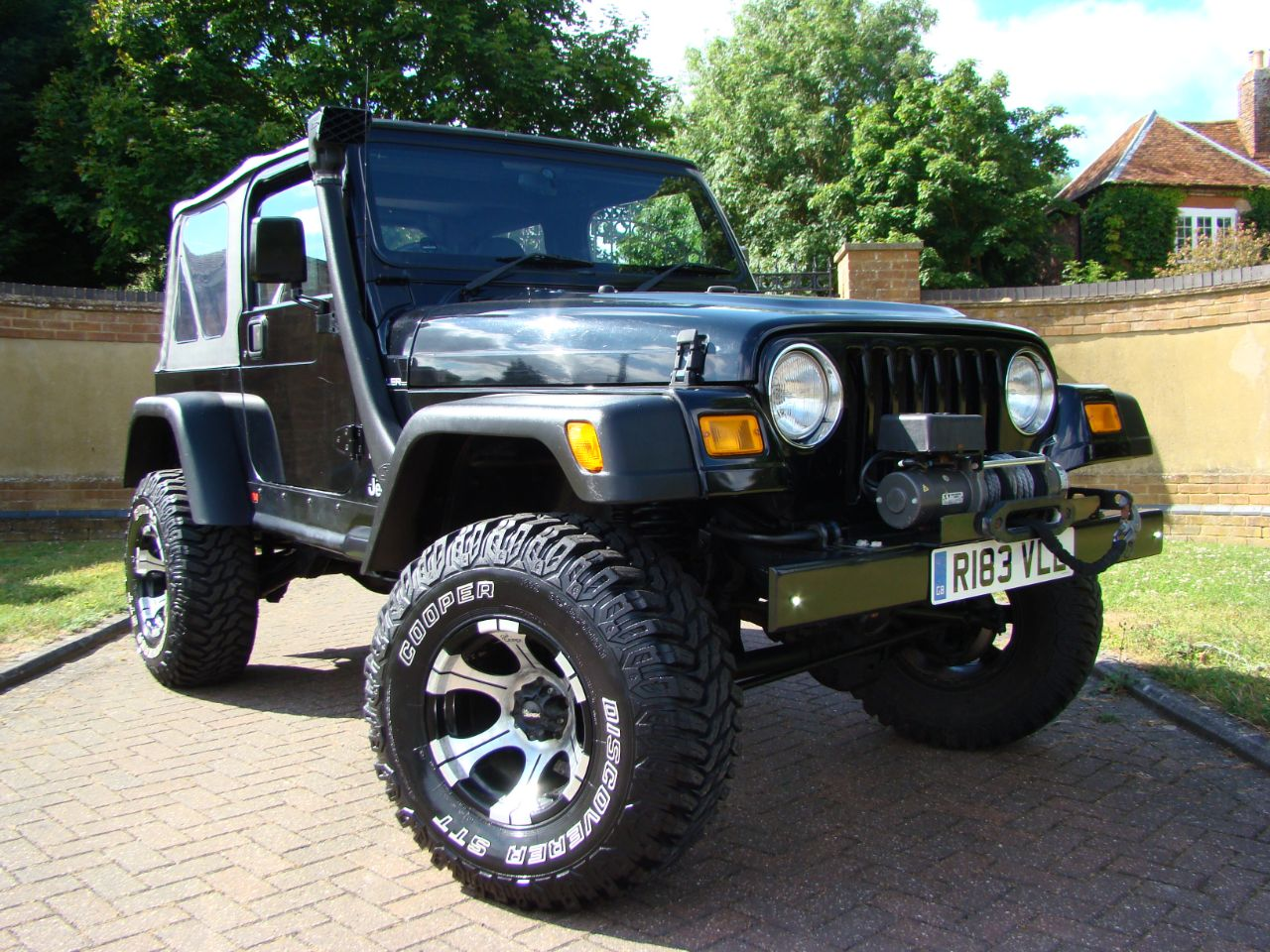 Jeep Wrangler 4.0 Sport Soft Top Manual Four Wheel Drive Petrol Black at Jeep Wranglers Leighton Buzzard